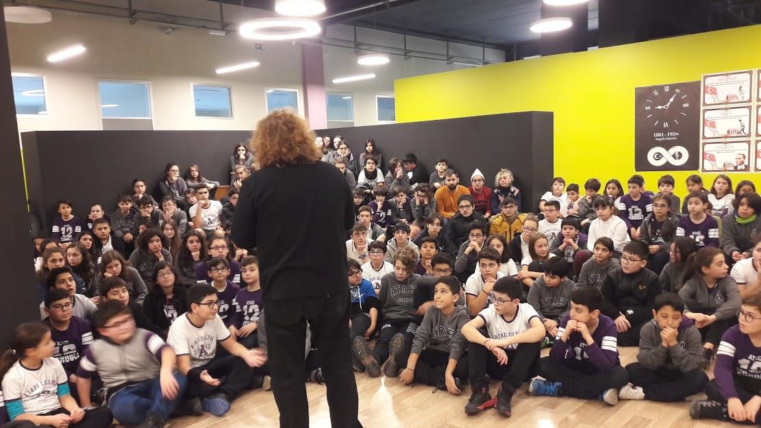 Atael Koleji Öğrencileri ile Buluşma